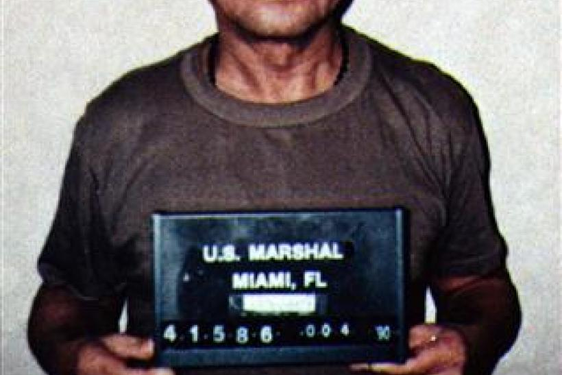 File photo of former Panamanian dictator Manuel Noriega