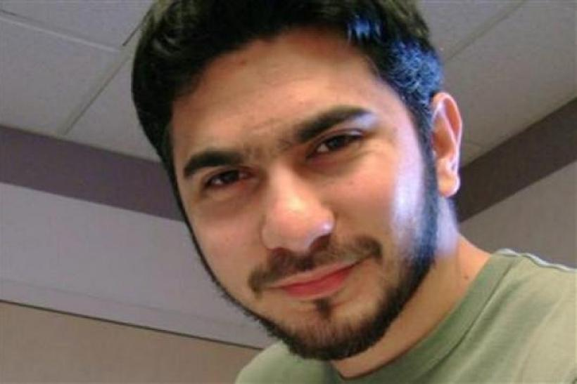 Faisal Shahzad, the Pakistani-American who tried to detonate a car bomb in Times Square, NYC in May 2010.