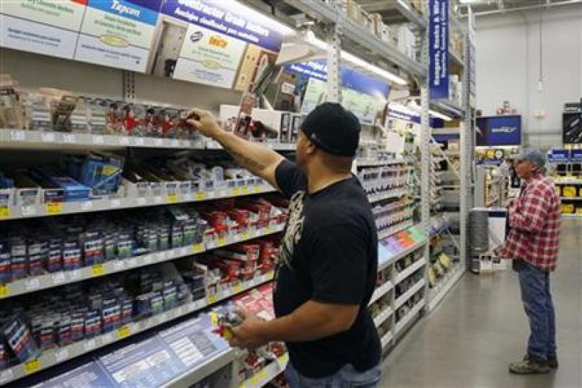 Customers shop at a Lowes store in Scottsdale