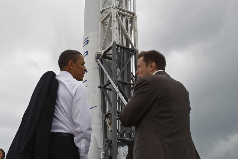 President Obama and SpaceX CEO Elon Musk tour Cape Canaveral, where SpaceX has a launch site.