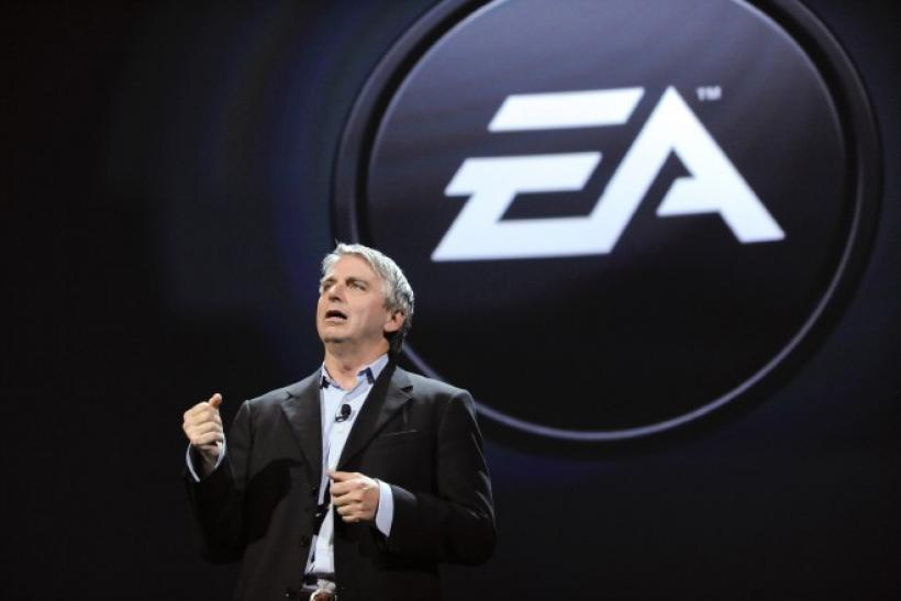 CEO of Electronic Arts John Riccitiello at the Electronic Entertainment Expo (E3)
