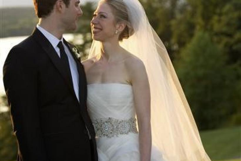"Chelsea Clinton marries in ""royal wedding"""