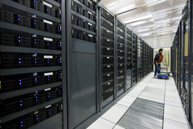 Many data centers, such as the one shown here, will become greener and more efficient according to Pike Research