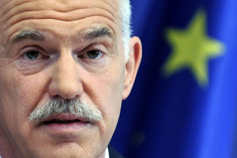 Greece's Prime Minister Papandreou