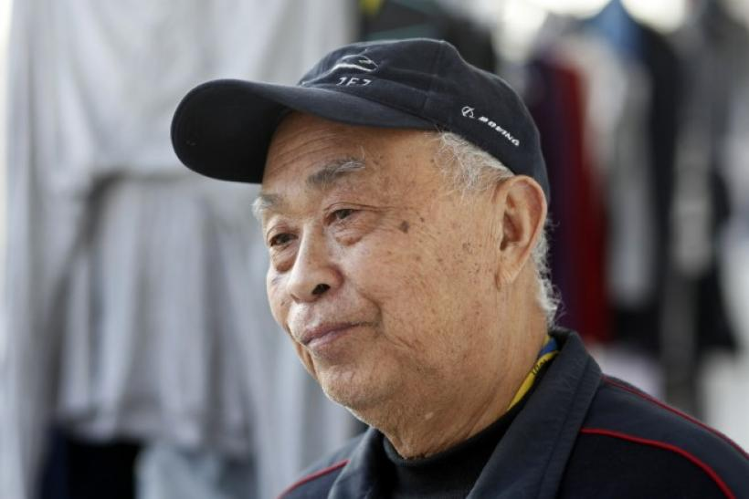 Huang Rixin, 78-year-old retired Chindese electronics engineer