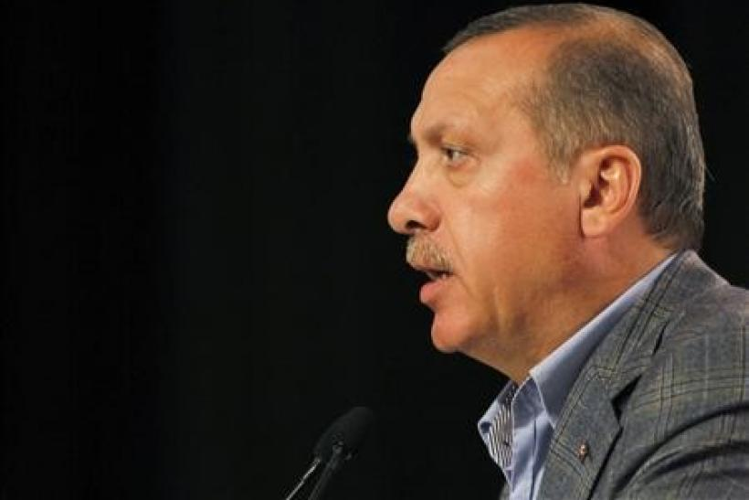 Turkey's Prime Minister and leader of the ruling Justice and Development Party (AKP) Recep Tayyip Erdogan