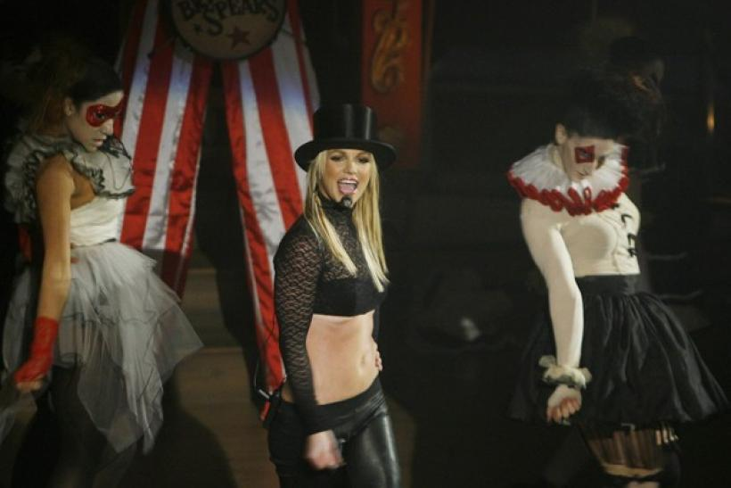 "Singer Britney Spears on ABC's ""Good Morning America"" in New York"