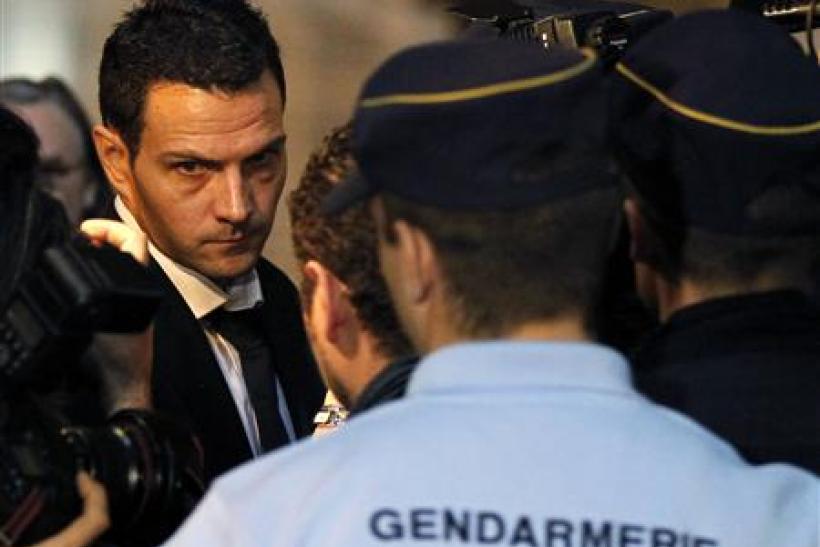 Former trader Kerviel arrives at Paris courts for the verdict in his trial