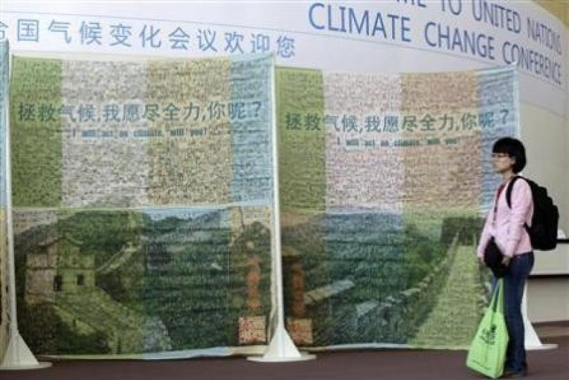 China says climate talks must tackle rich CO2 cuts