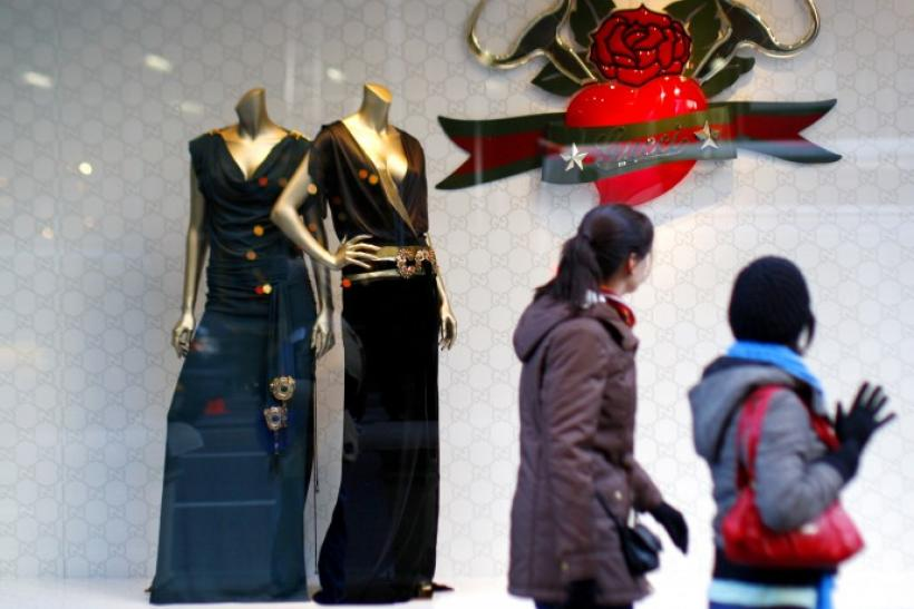 Rebound in luxury sales.