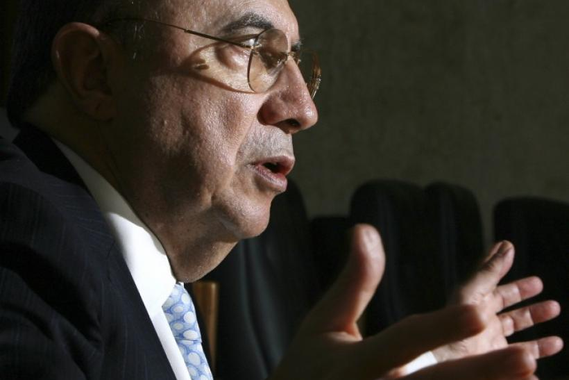 Brazil central bank president Henrique Meirelles