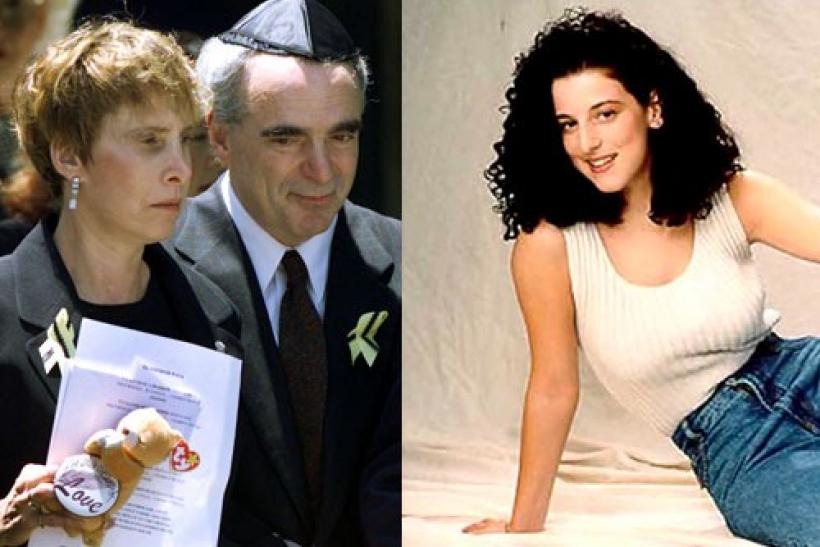 Chandra Levy's parents Susan and Robert Levy and (right) Chandra Levy