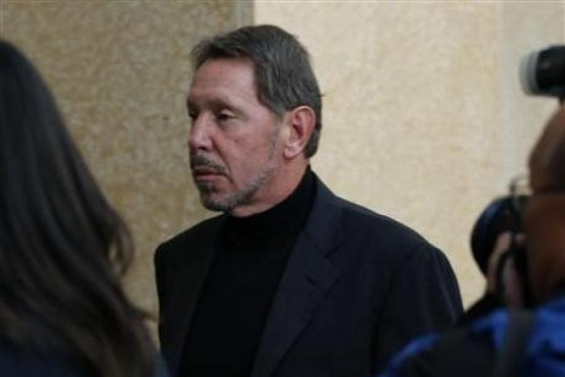 SAP grills Oracle as Apotheker absent from trial