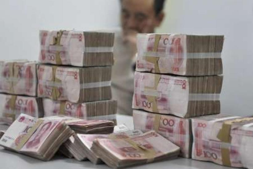 China Oct new loans 588 bln yuan, topping forecasts