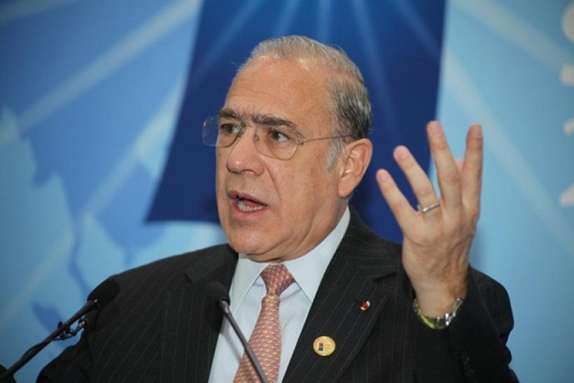 Angel Gurria, Secretary- General of the Organization for Economic Cooperation and Development