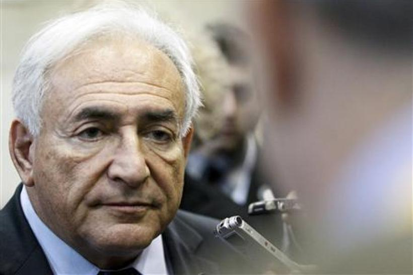 IMF Chief Dominique Strauss-Kahn