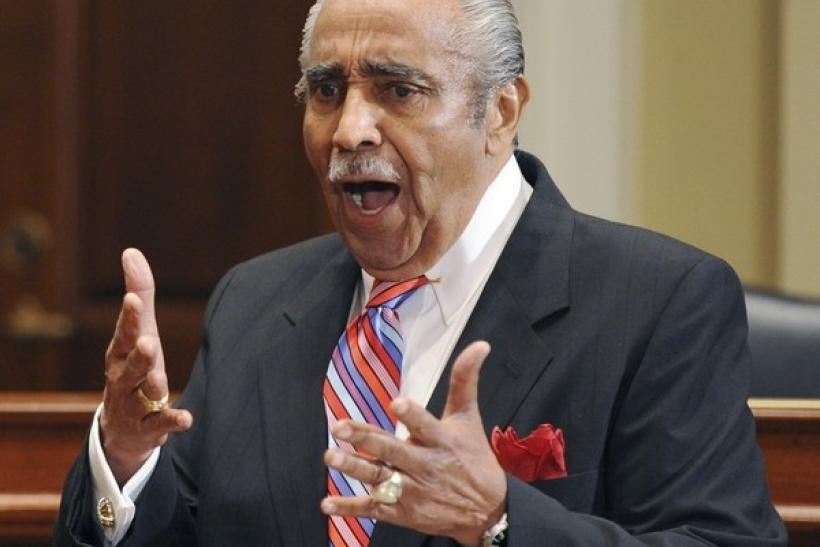 U.S. Representative Charles Rangel (D-NY) appears before the House Adjudicatory subcommittee on Capitol Hill in Washington, November 15, 2010.