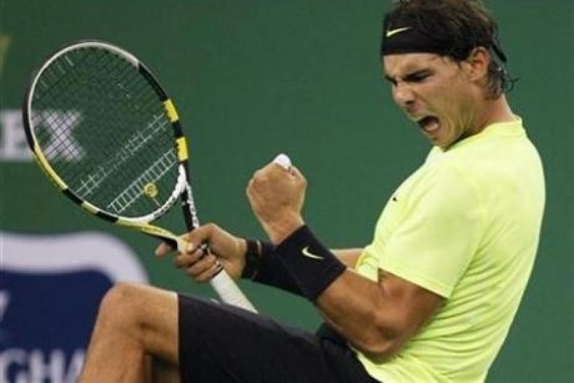 Rafael Nadal faces Bernard Tomic Saturday