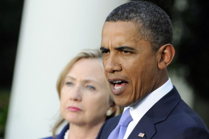 U.S. President Obama and Secretary of State Clinton