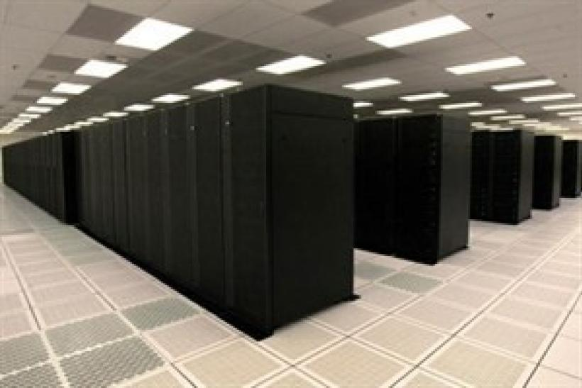 A supercomputer in an undated file photo.