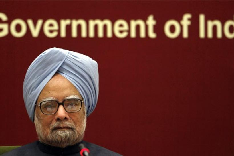 India's Prime Minister Manmohan Singh attends the Indian labor conference in New Delhi November 23, 2010