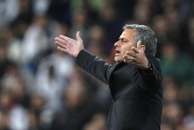 Real Madrid's coach Mourinho