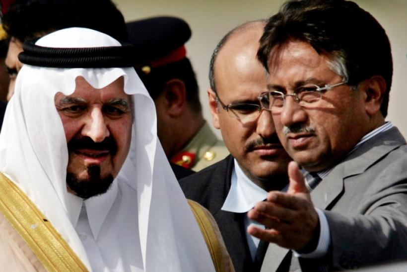 Saudi worked directly with Musharraf to have Sharif arrested