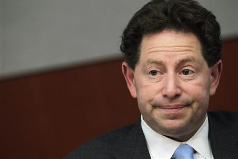 Bobby Kotick, Chief Executive Officer of Activision Blizzard, speaks at the Reuters Global Media Summit in New York