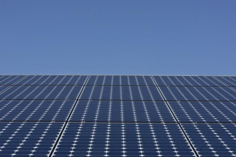 Solar panels sit on the roof of SunPower Corporation in Richmond, California March 18, 2010.