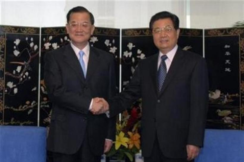 Taiwan, China push for free trade-like agreement