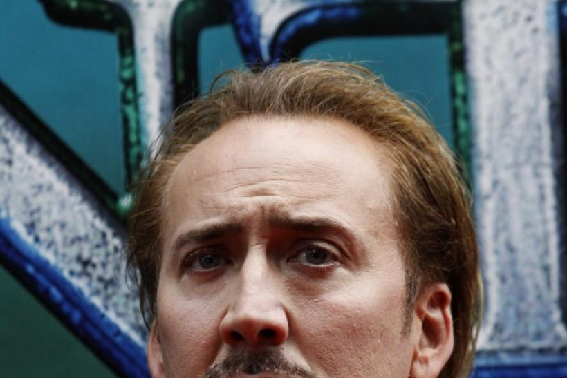 Actor, Nicolas Cage