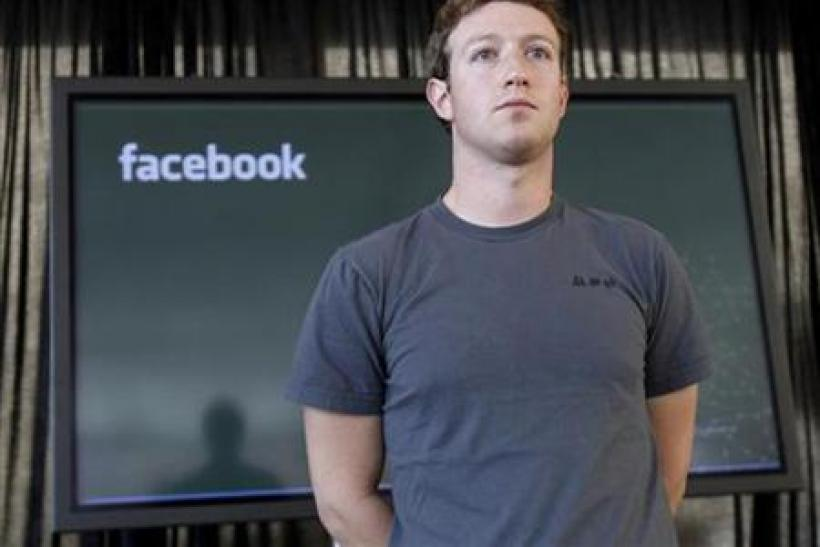 Facebook CEO Mark Zuckerburg in Esquire's Celebrity Style Hall of Shame