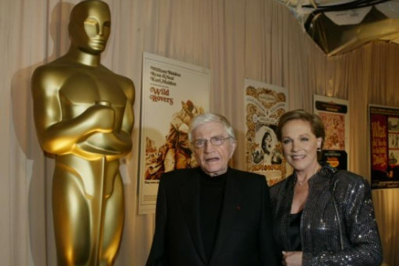 Blake Edwards and Julie Andrews.