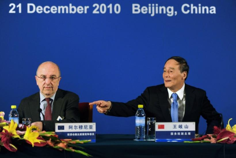 China on Tuesday offered support to Europe's efforts to deal with the peripheral debt crisis and said Beijing will not cut down its holdings of European sovereign bonds.