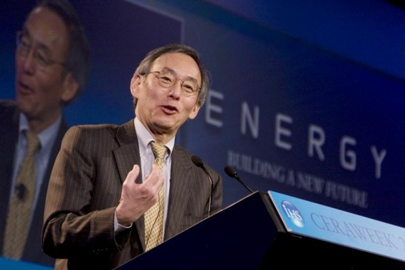 United States Secretary of Energy Steven Chu.