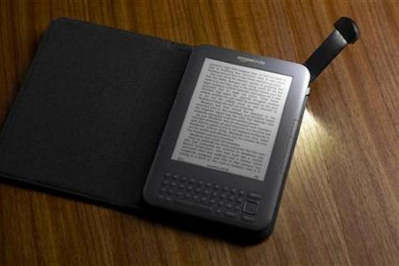 The Amazon Kindle e-book reader