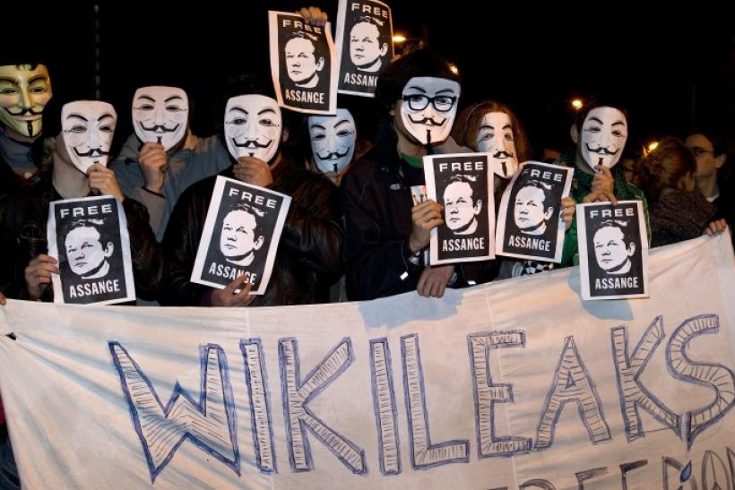 WikiLeaks, anti-secrecy, Whistleblower website founded and run by Australian journalist/hacker Julian Assange