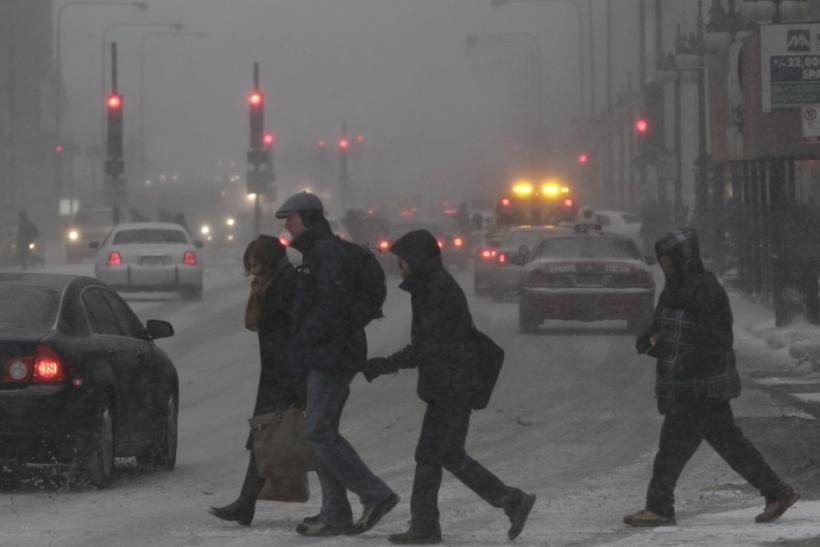 Deadly winter snowstorm in US (PHOTOS).