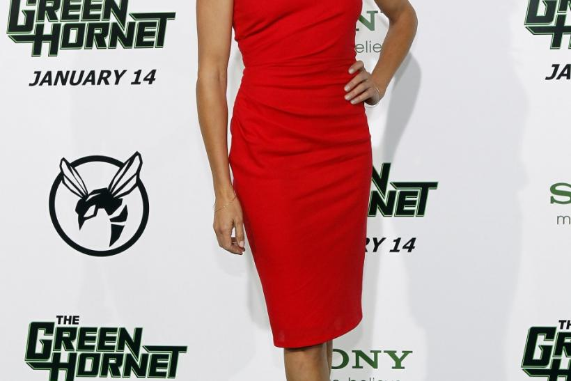 "Cameron Diaz at the premiere of ""The Green Hornet"""