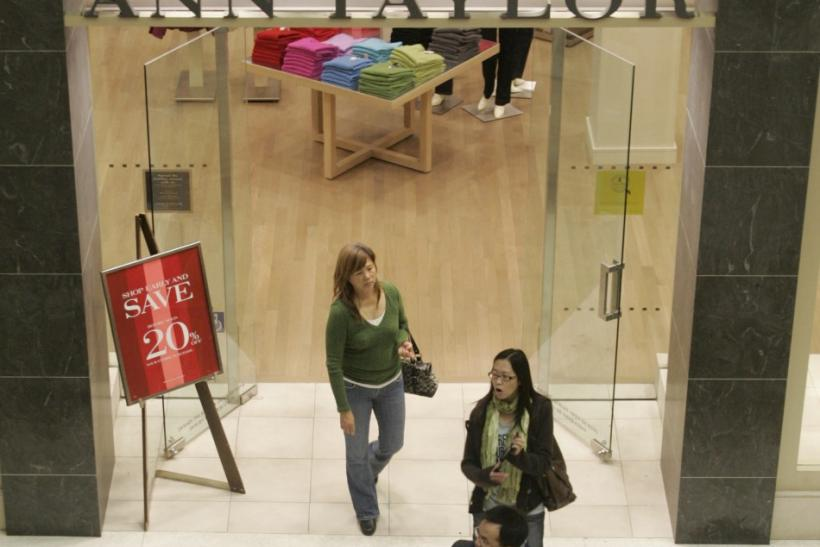 Shares of retail companies such as Ann Taylor rose today on a positive retail report