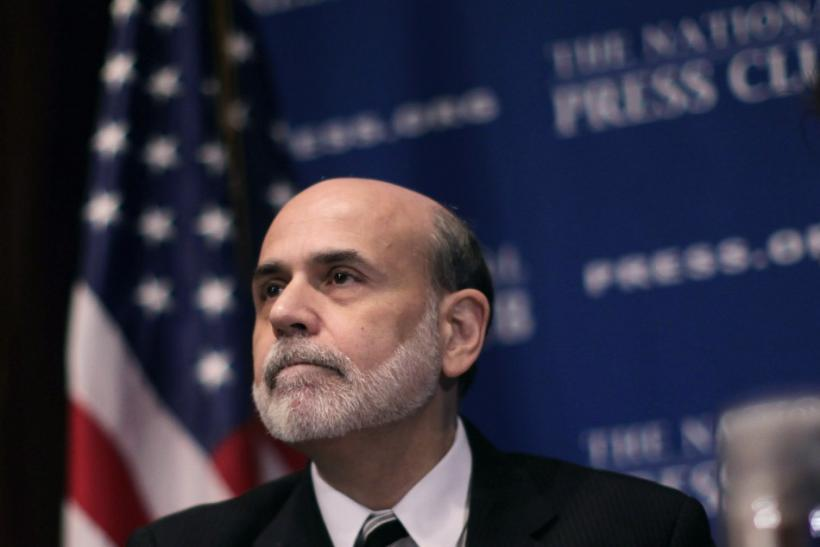 Chairman of the Federal Reserve Ben Bernanke at National Press Club luncheon on the economic outlook in Washington