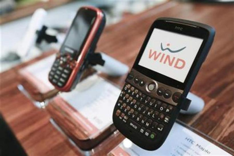 WIND Mobile cell phones are displayed at a retail store before the official launch of WIND Mobile, a new cellular service for the Canadian market, in Toronto