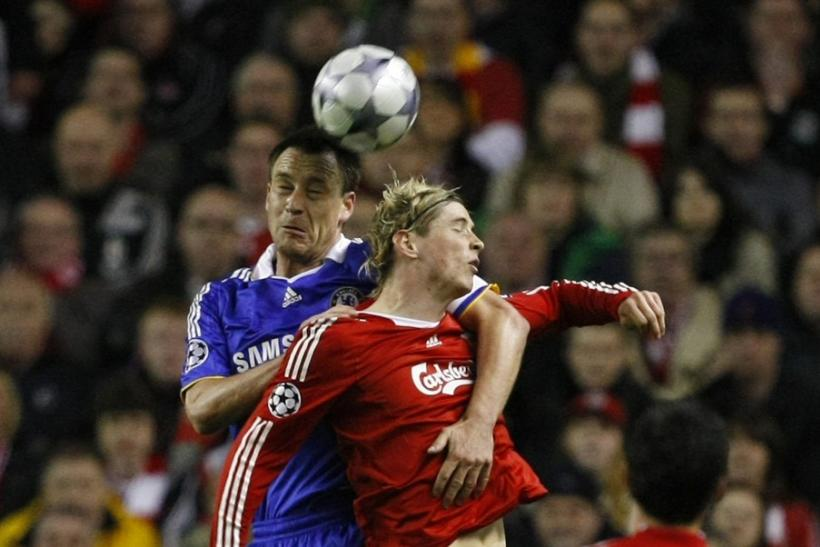 Old foes become friends as Torres will line up alongside Terry to face his old club Liverpool on his Chelsea debut.