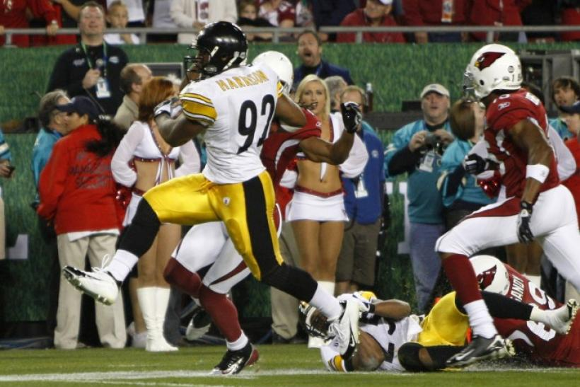 d96f3cb6283 Pittsburgh Steelers  James Harrison  More Vicious Verbally than Physically