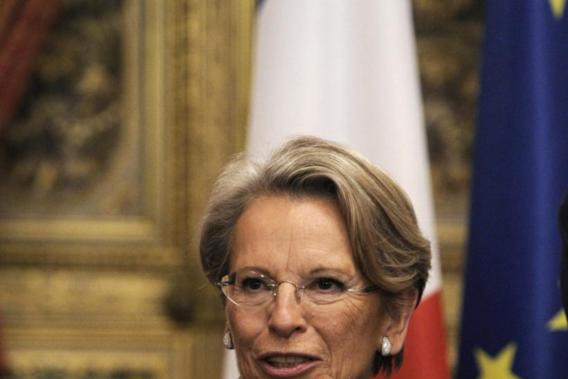 French Foreign Affairs Minister Michele Alliot-Marie