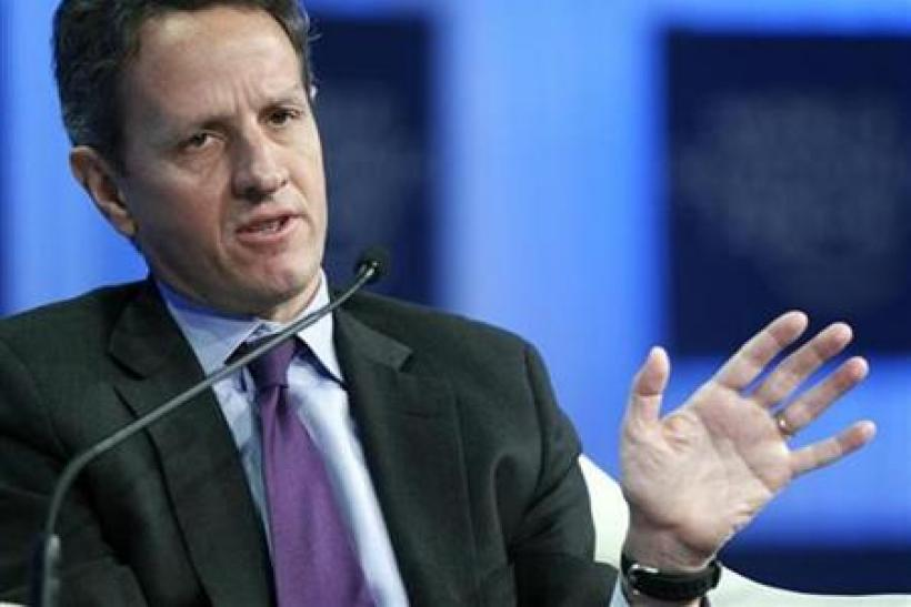 U.S. Secretary of the Treasury Timothy Geithner
