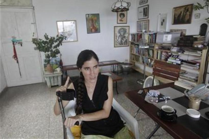 Cuban Blogger Yoani Sanchez