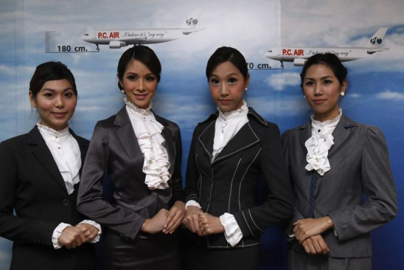 PC Air transsexual flight attendants