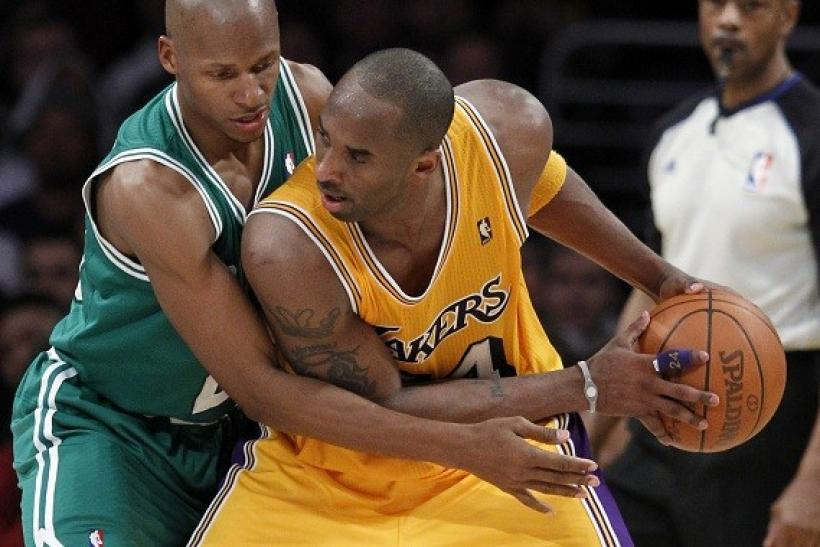 The Lakers-Celtics Rivalry Heats Up Tonight