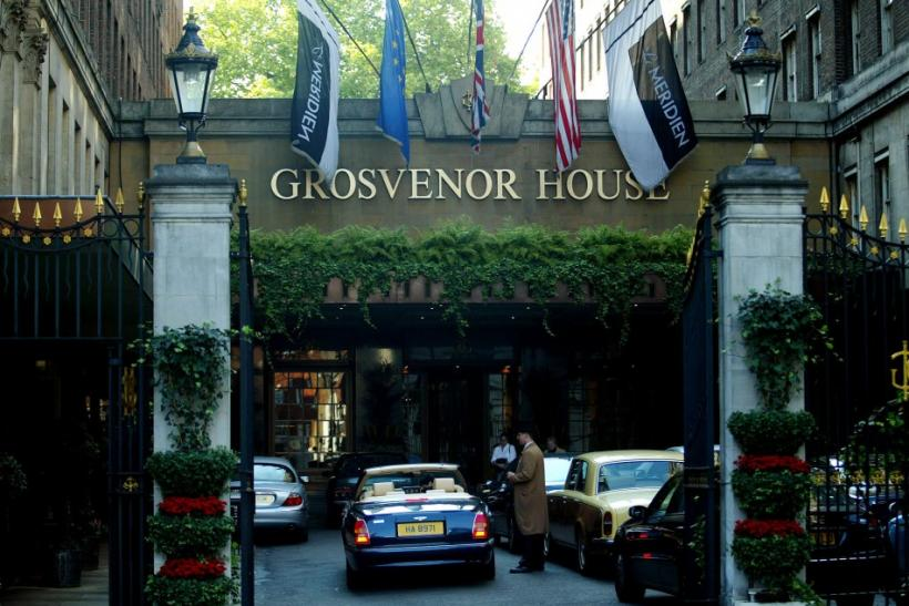 The Grosvenor House hotel.